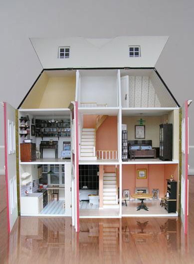 Casas en miniatura vogue - Como hacer casas en miniatura ...